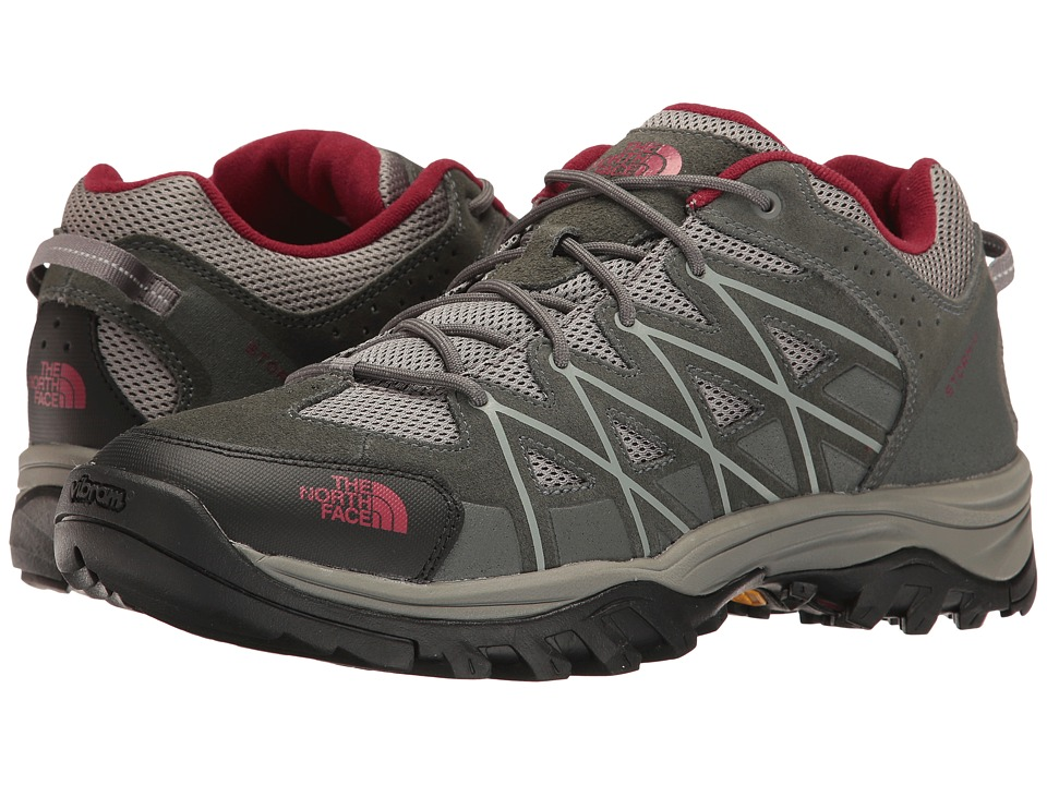 The North Face Storm III (Graphite Grey/Biking Red) Men