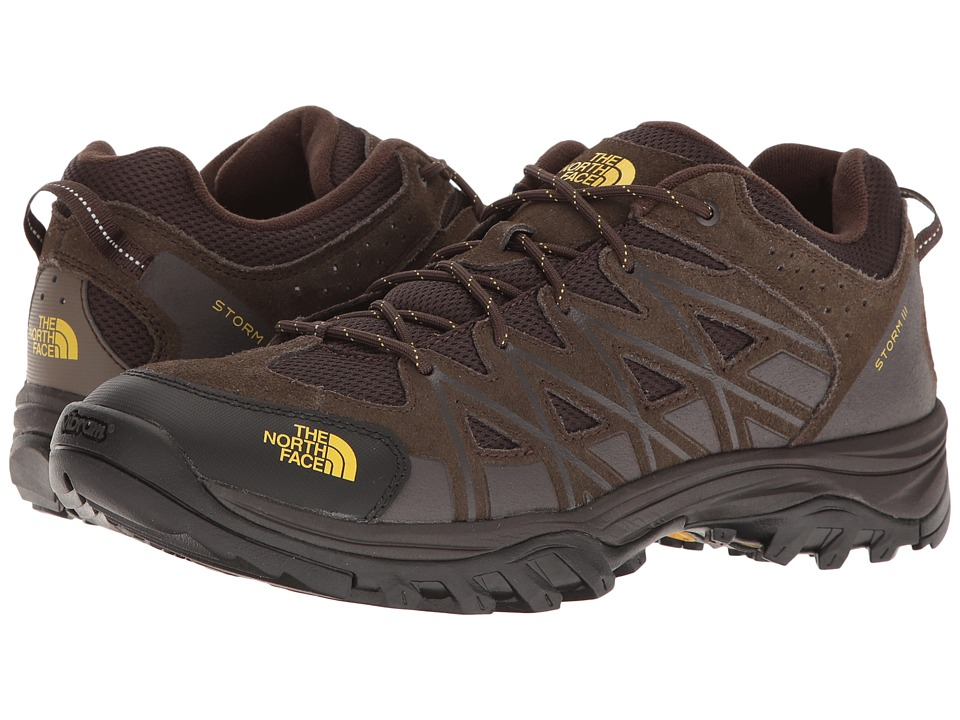 The North Face Storm III (Coffee Brown/Antique Moss Green) Men