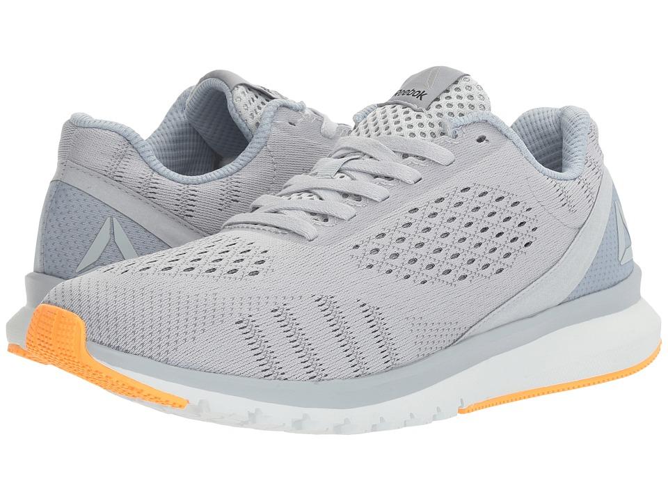 Reebok - Print Run Smooth ULTK (Cloud Grey/Gable Grey/Asteroid Dust/Polar Blue/Black/Fire Spark) Womens Running Shoes