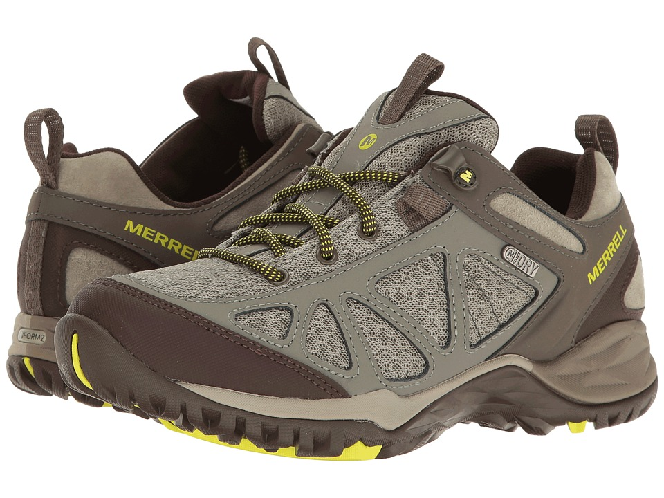 Merrell Siren Sport Q2 Waterproof (Dusty Olive) Women's Shoes