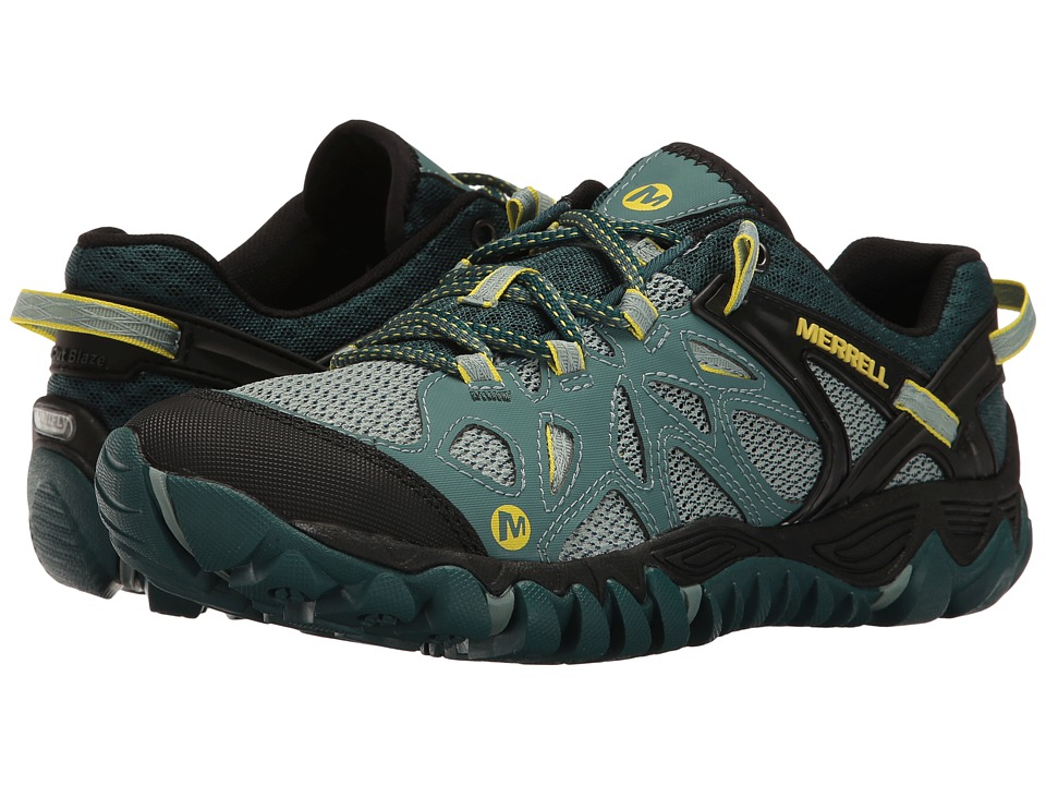 Merrell - All Out Blaze Aero Sport (Sea Pine) Womens Shoes