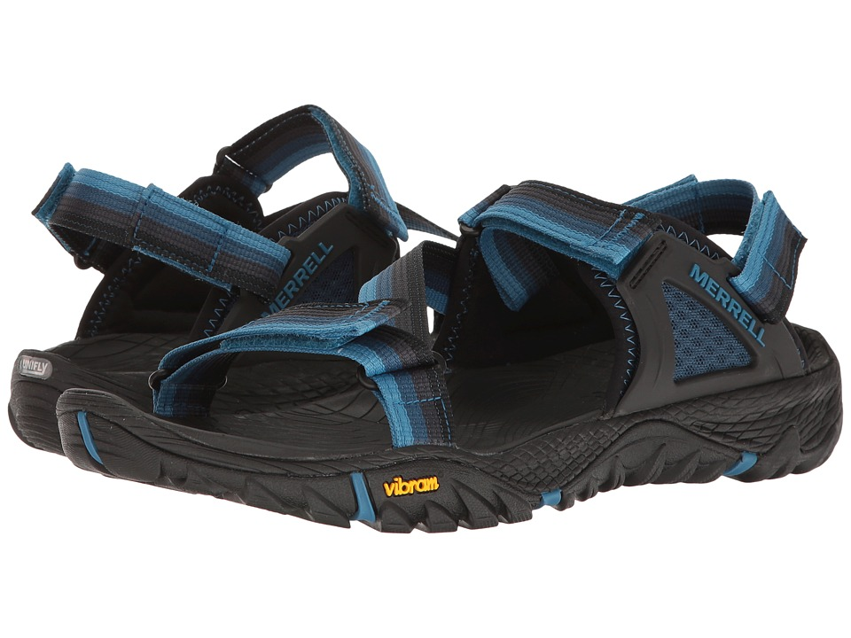 Merrell All Out Blaze Web (Ebony) Men