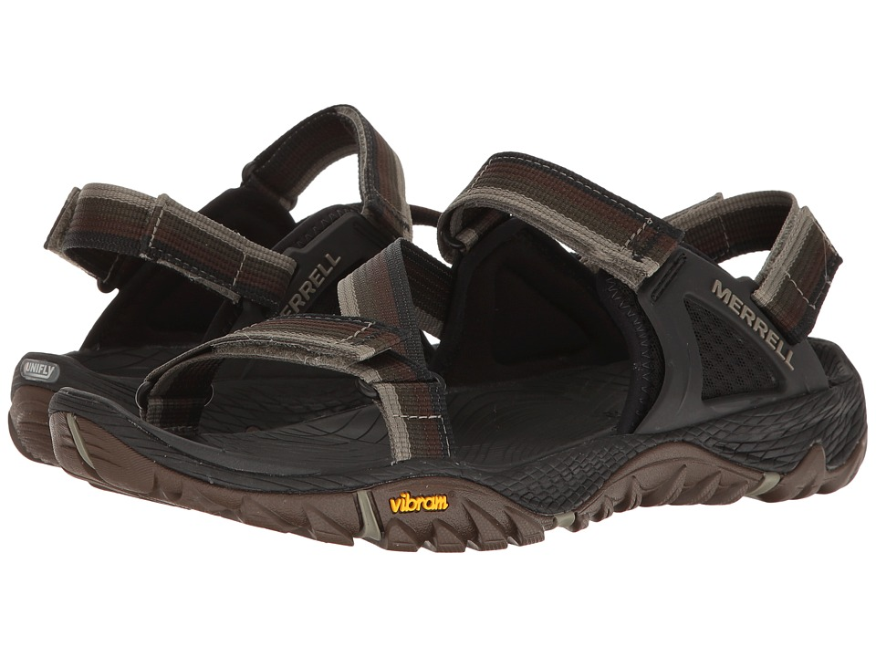 Merrell - All Out Blaze Web (Dusty Olive) Men's Sandals