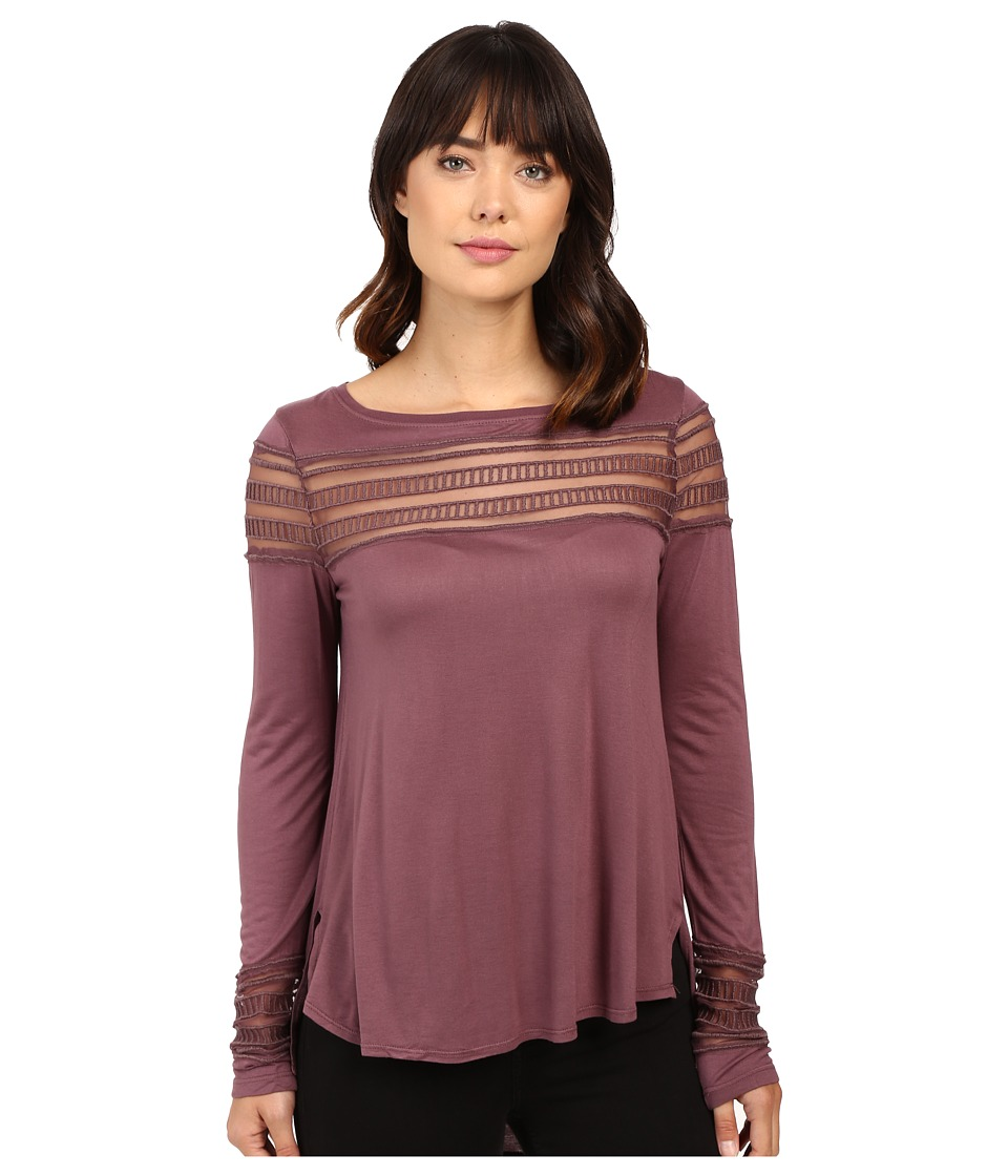 Free People Roxie Tee (Purple) Women