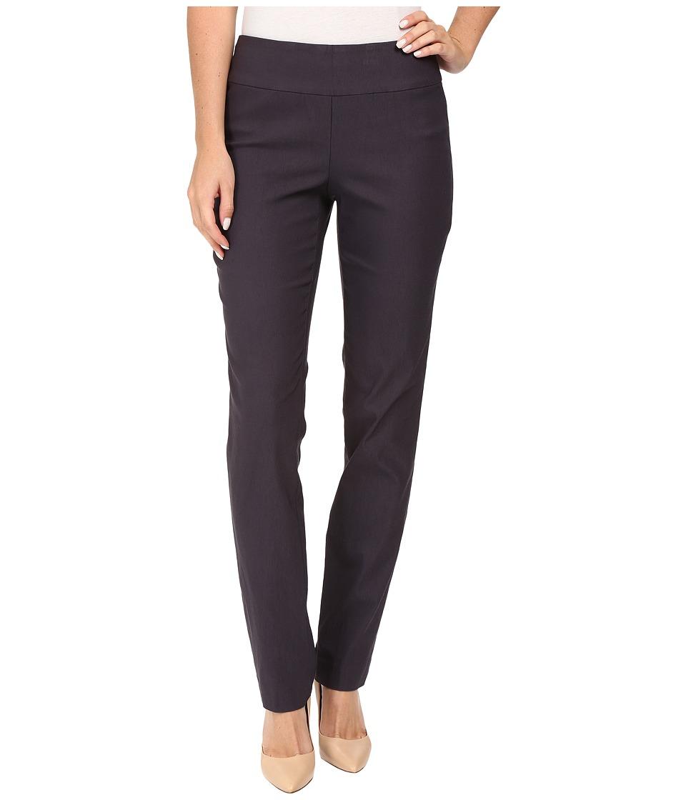 NIC+ZOE - Wonderstretch Pant (Japanese Violet) Women's Dress Pants plus size,  plus size fashion plus size appare