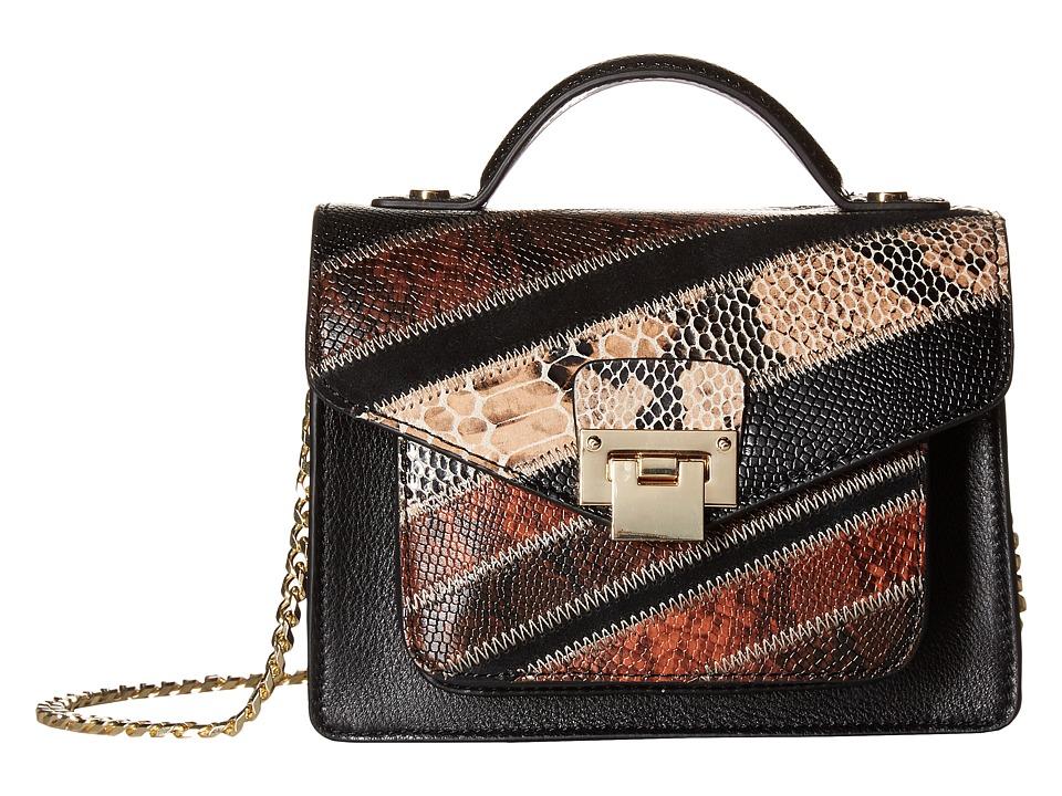 Sam Edelman - Kylie Mini Crossbody (Black Multi) Cross Body Handbags