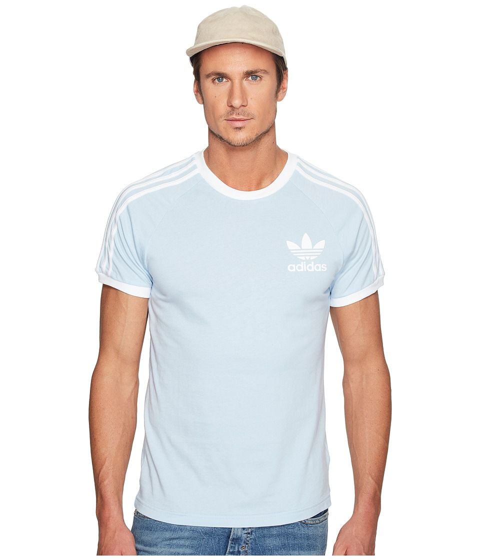 adidas Originals California Tee (Easy Blue) Men
