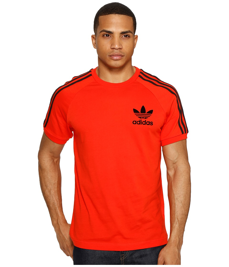 adidas Originals California Tee (Core Red/Black) Men