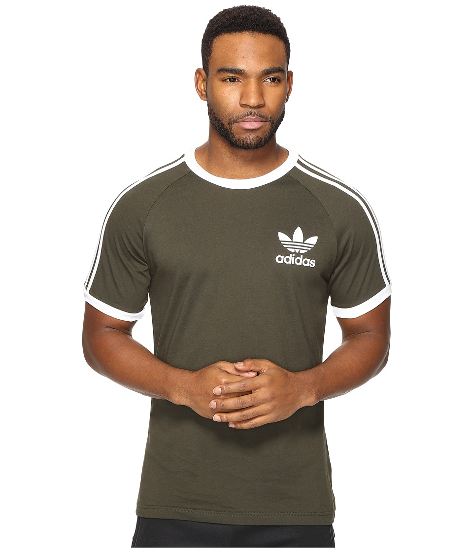 adidas Originals California Tee (Night Cargo) Men