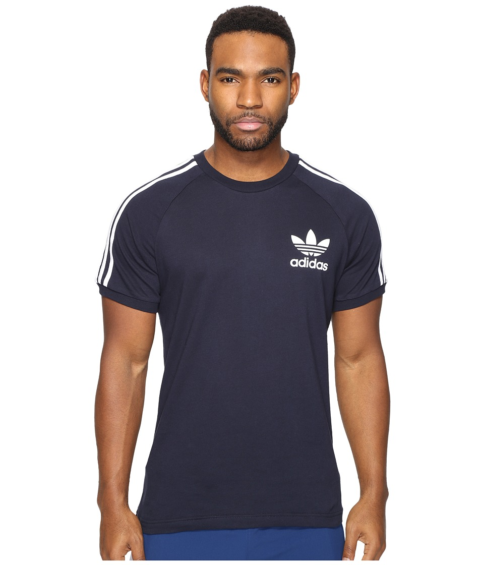 adidas Originals California Tee (Legend Ink/White) Men