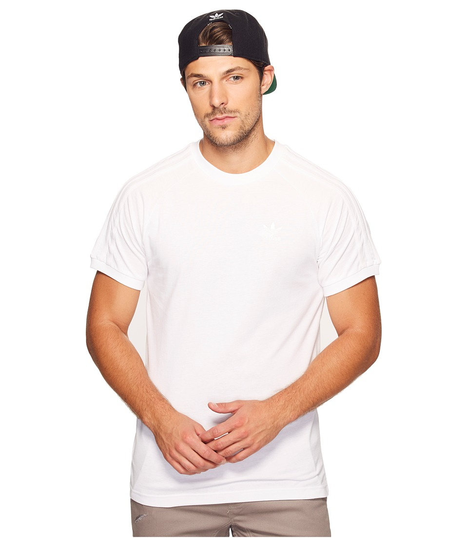adidas Originals California Triple Tee (White) Men