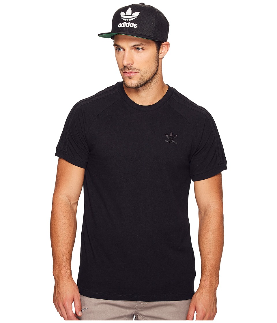 adidas Originals California Triple Tee (Black) Men