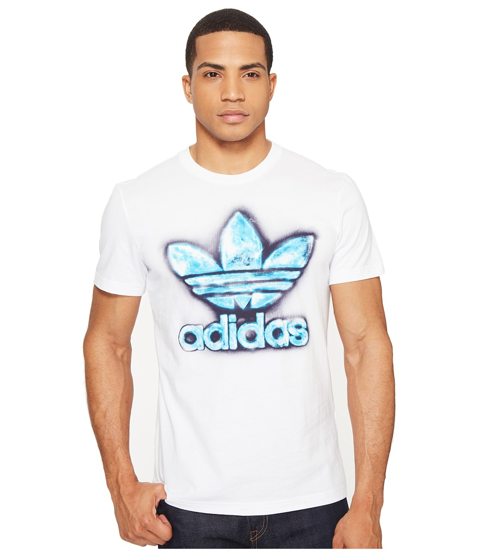adidas Originals Trefoil Graphic Tee 3 (White) Men