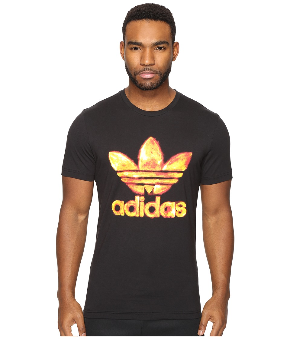 adidas Originals Trefoil Graphic Tee 3 (Black) Men