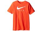 "Dry Swoosh ""Fly"" Basketball T-Shirt (Little Kids/Big Kids)"