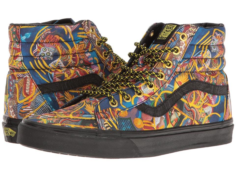 Vans - SK8-Hi ((OTW Gallery) Zio Ziegler/Black) Skate Shoes