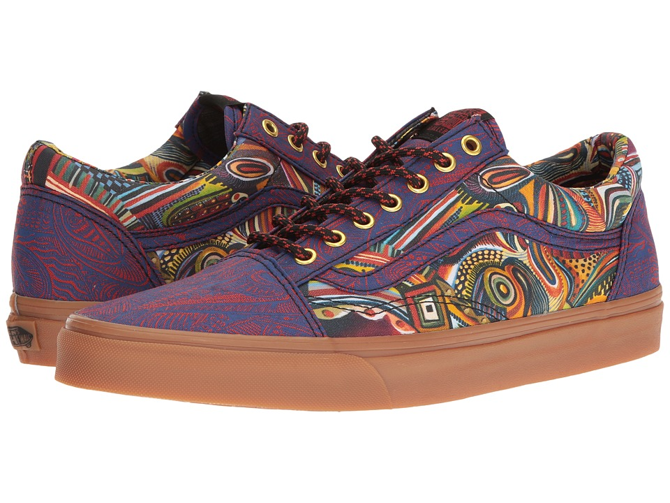 Vans Old Skool ((OTW Gallery) Zio Ziegler/Gum) Skate Shoes