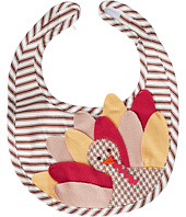 Mud Pie - Turkey Ticking Bib