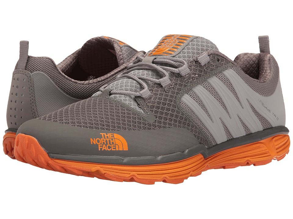 The North Face Litewave TR II (Dark Gull Grey/Exuberance Orange) Men