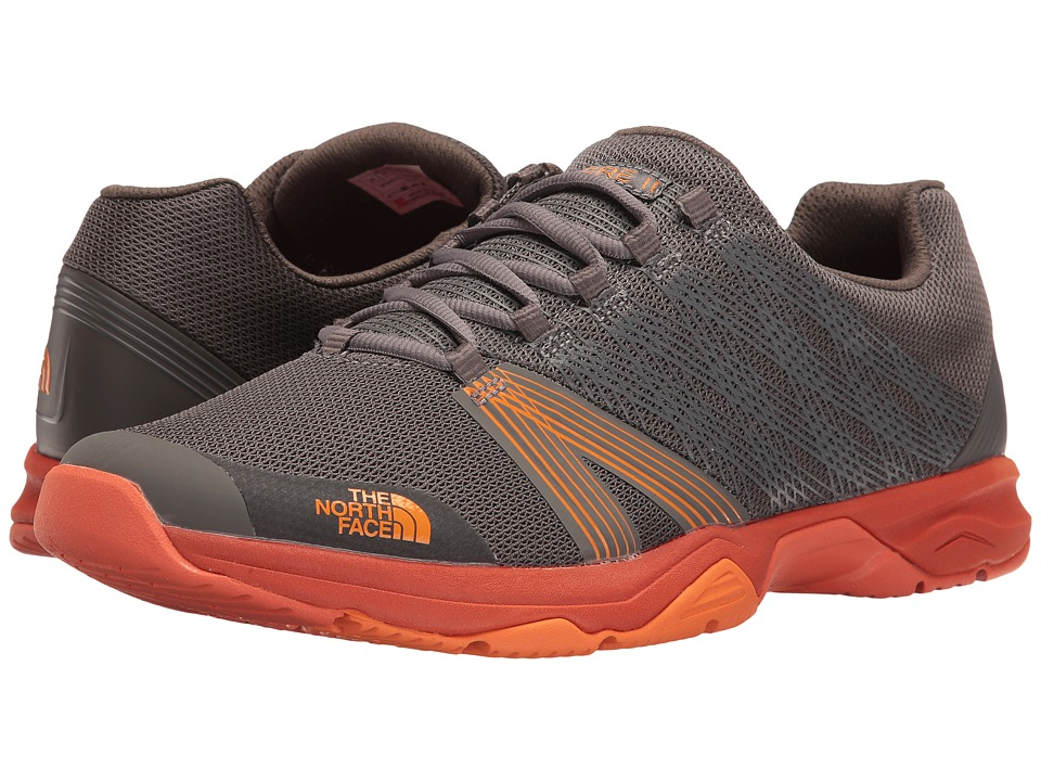 The North Face Litewave Ampere II (Dark Gull Grey/Exuberance Orange) Men