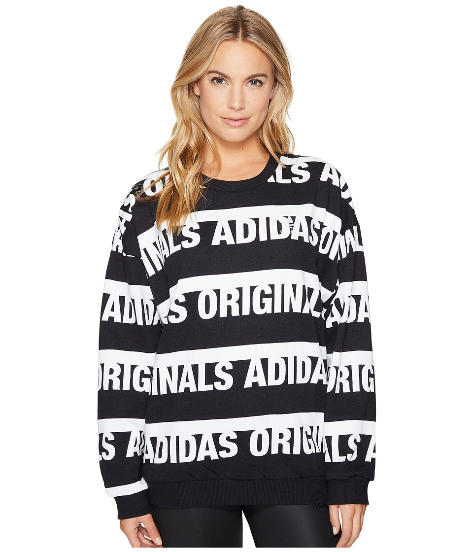 adidas Originals Trefoil Sweater (Black) Women