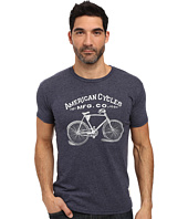The Original Retro Brand - Short Sleeve Tri-Blend American Cycle Tee