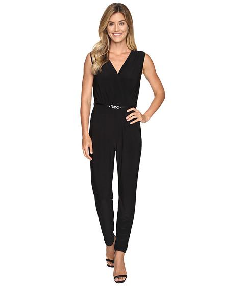 NIC+ZOE Luxe Jersey Jumpsuit - Black Onyx