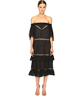 Prabal Gurung - Off Shoulder Tiered Ruffle Dress