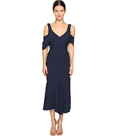 Prabal Gurung - Short Sleeve Draped Shoulder Dress