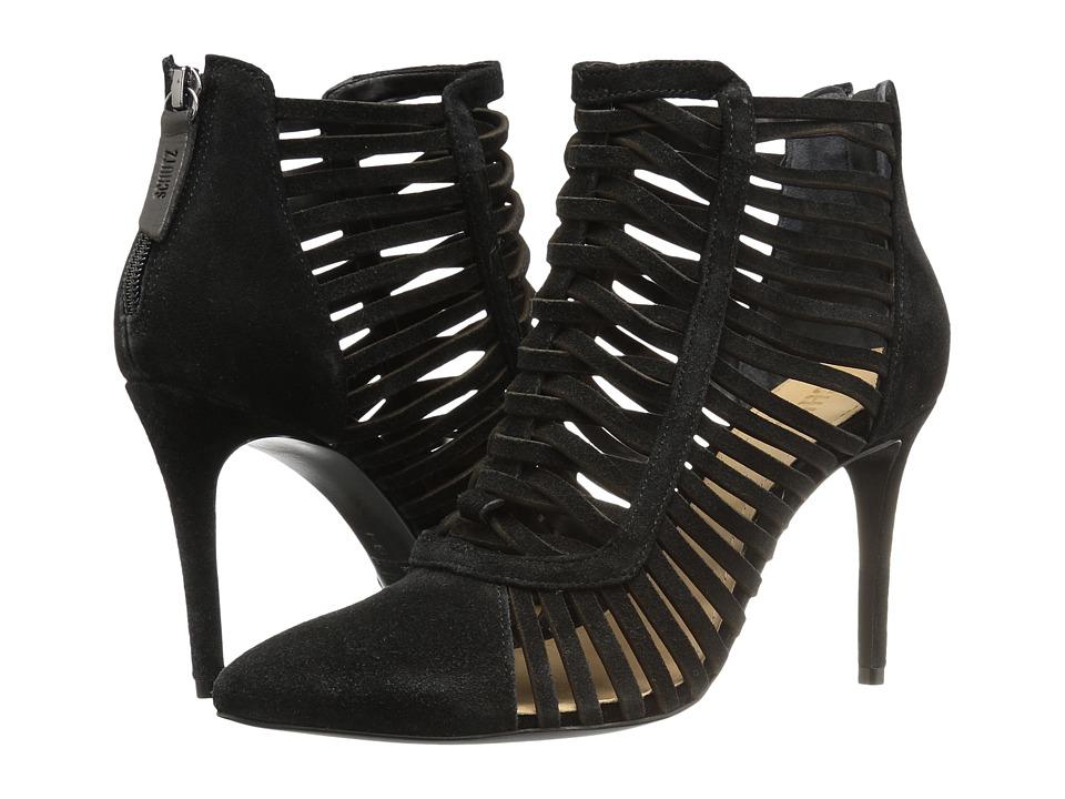 Schutz Mulanita (Black) High Heels