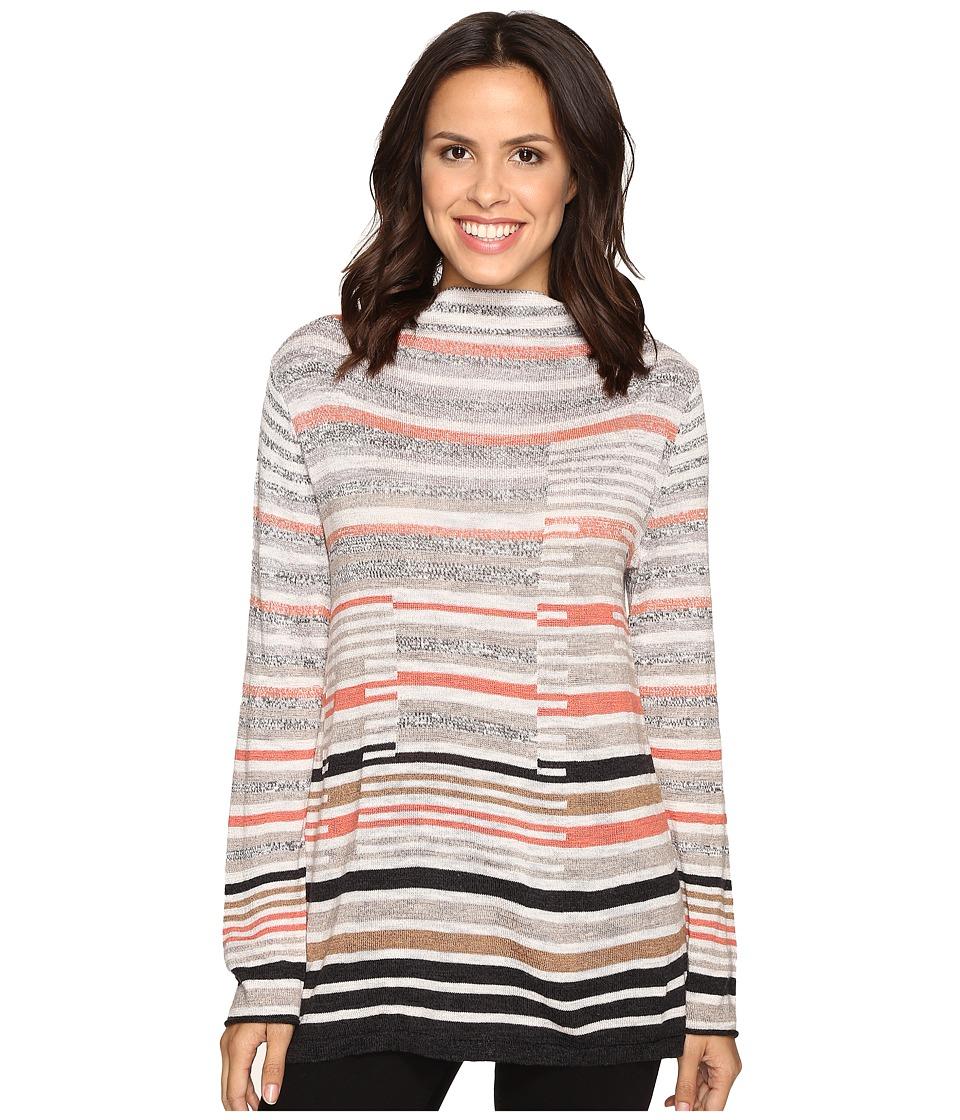 NIC+ZOE Striped Style Top (Multi) Women