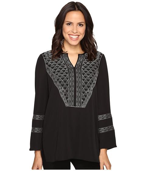 NIC+ZOE - Bellini Top (Black Onyx) Women's Clothing