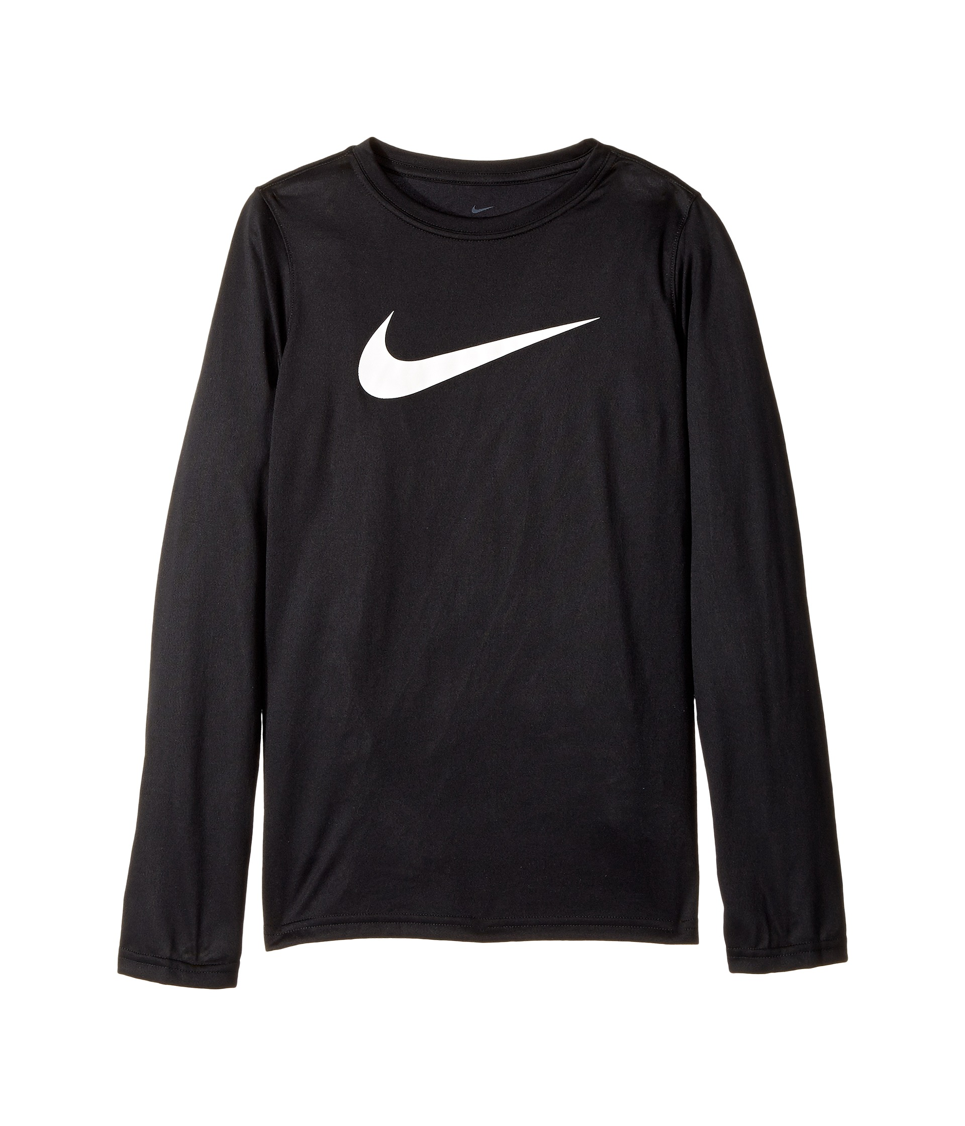 Nike Kids Dry Long Sleeve Training T-Shirt (Little Kids/Big Kids) at Zappos.com