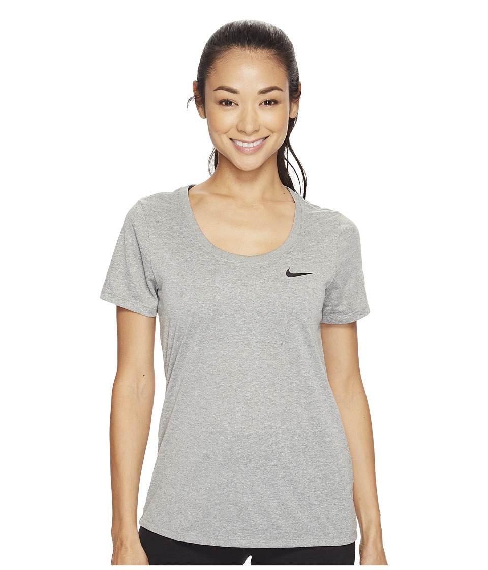 Nike Dry Training T-Shirt (Dark Grey Heather) Women