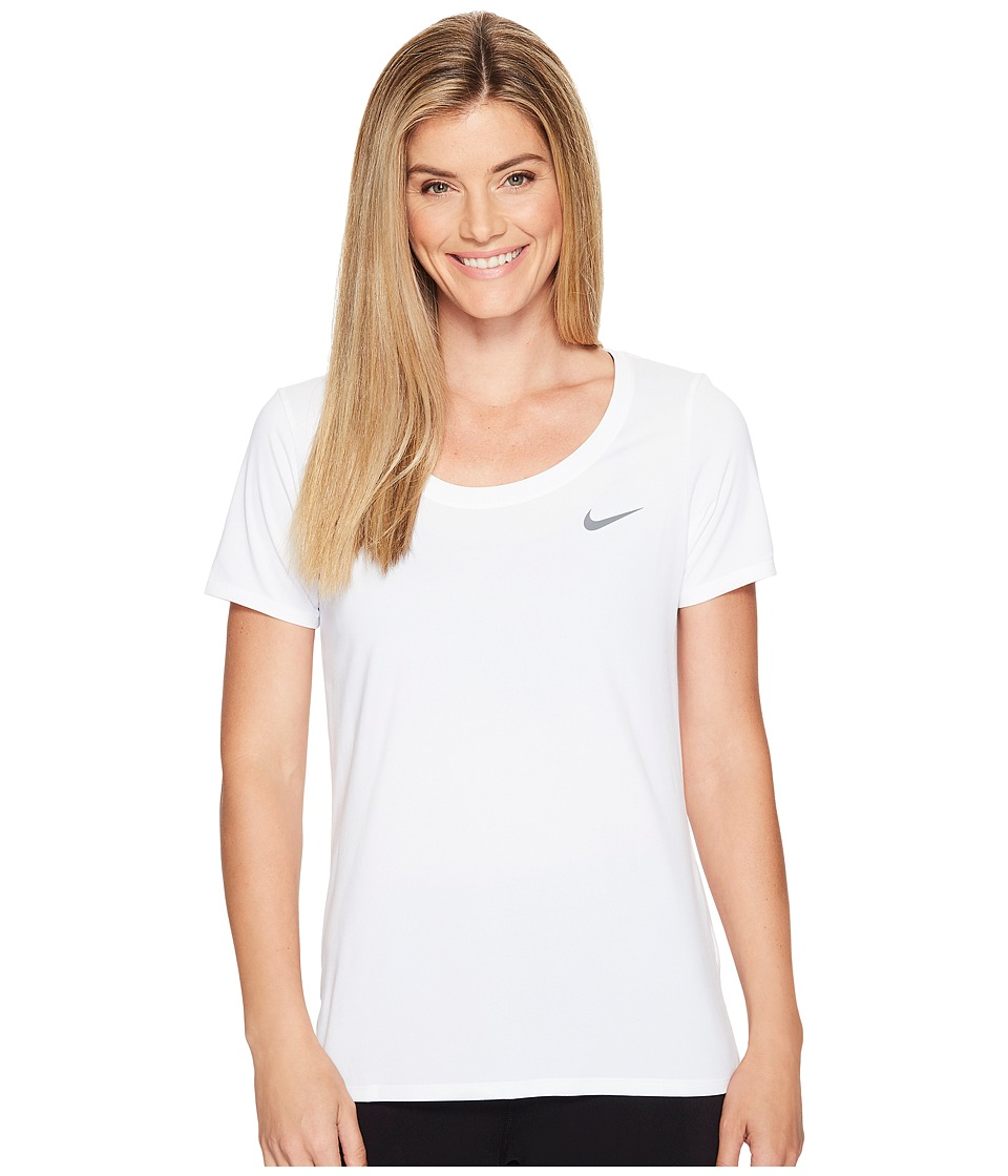 Nike Dry Training T-Shirt (White) Women