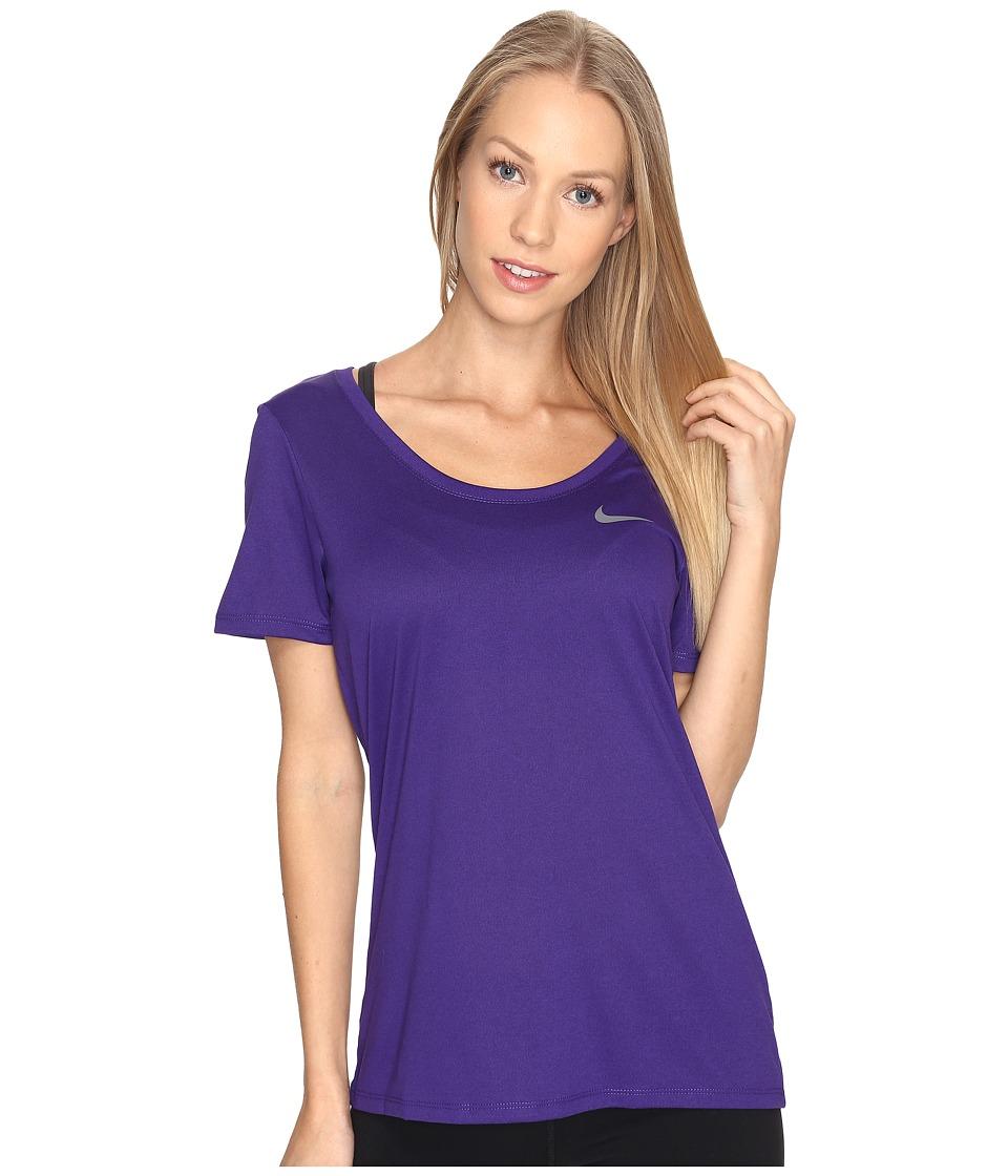 Nike Dry Training T-Shirt (Court Purple) Women