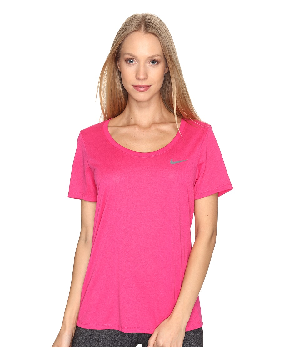 Nike Dry Training T-Shirt (Vivid Pink) Women