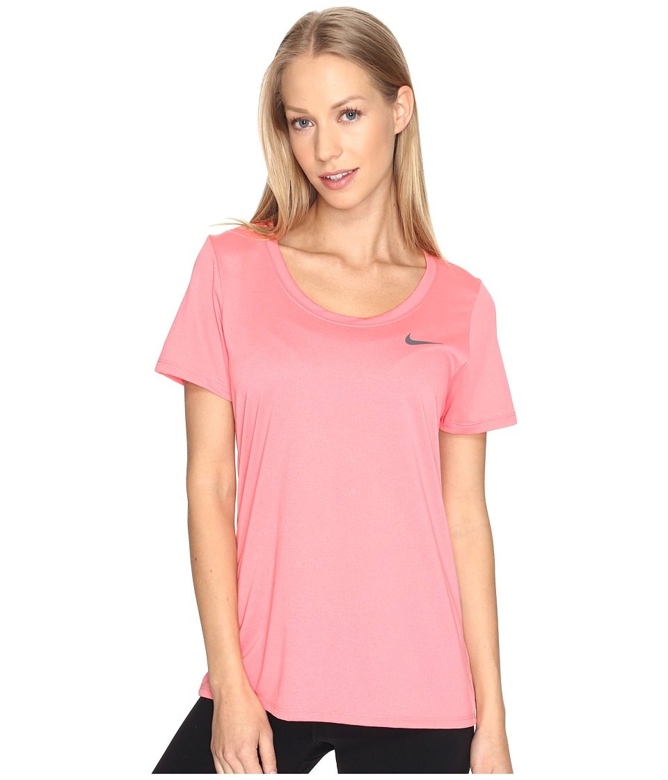 Nike Dry Training T-Shirt (Bright Melon) Women