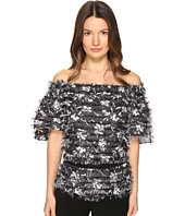 Prabal Gurung - Off Shoulder Tiered Ruffle Blouse