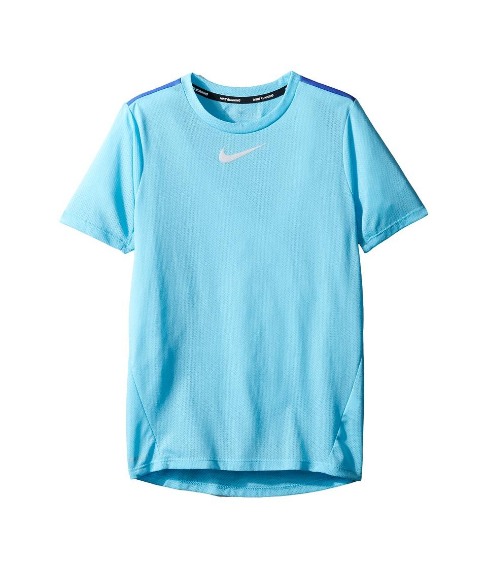 Nike Kids - Dry Short Sleeve Running Top (Little Kids/Big...