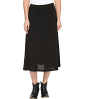 Roper - 0612 Black Sweater Jersey A-Line Skirt