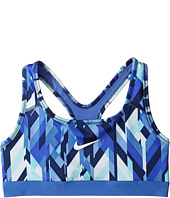 Nike Kids - Medium Support Printed Sports Bra (Little Kids/Big Kids)