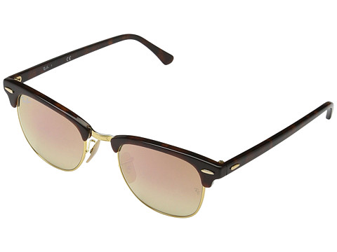 Ray-Ban Clubmaster RB3016 51mm - Tortoise/Copper Gradient Flash