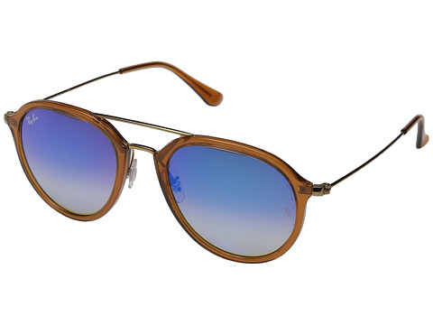 Ray-Ban 0RB4253 53mm - Brown/Blue Flash Gradient