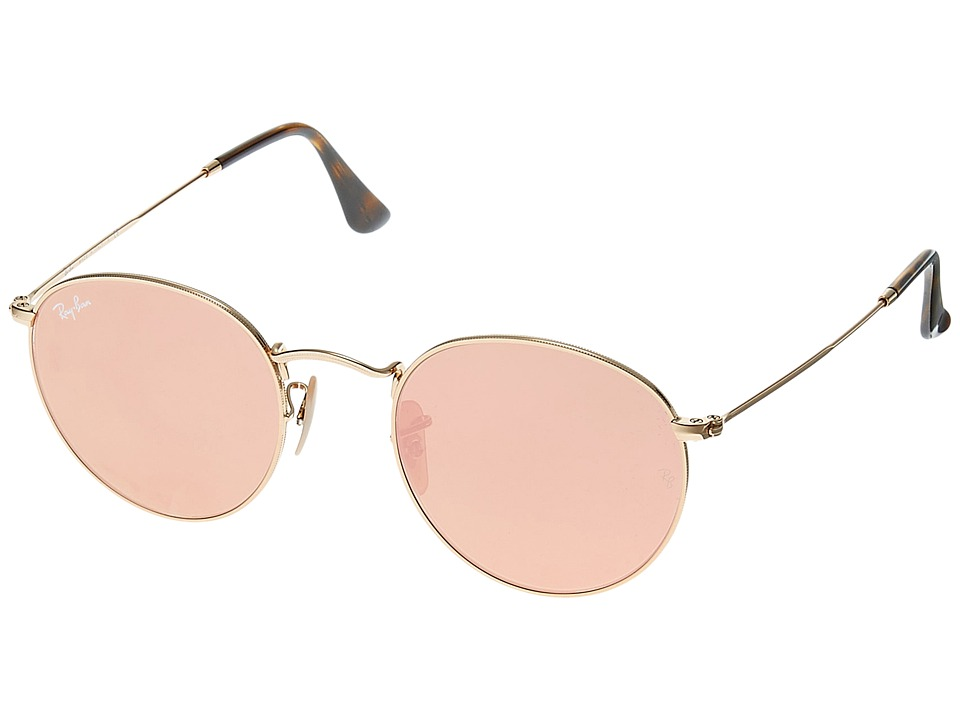 Ray-Ban RB3447 50mm (Gold/Copper) Fashion Sunglasses