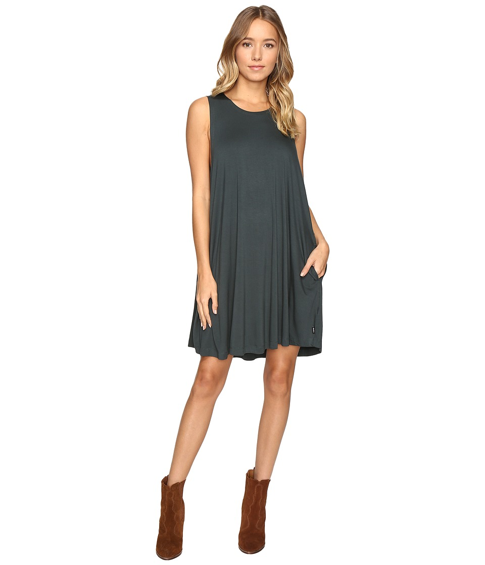 RVCA Sucker Punch 2 Dress (Pine) Women