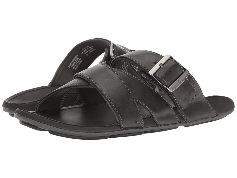 OluKai - Kaupe'a (Black/Black) Men's Sandals