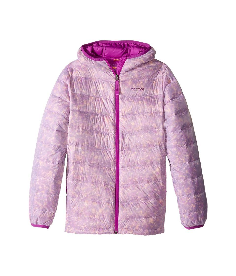 Marmot Kids - Nika Hoodie (Little Kids/Big Kids) (Neon Berry) Girls Sweatshirt