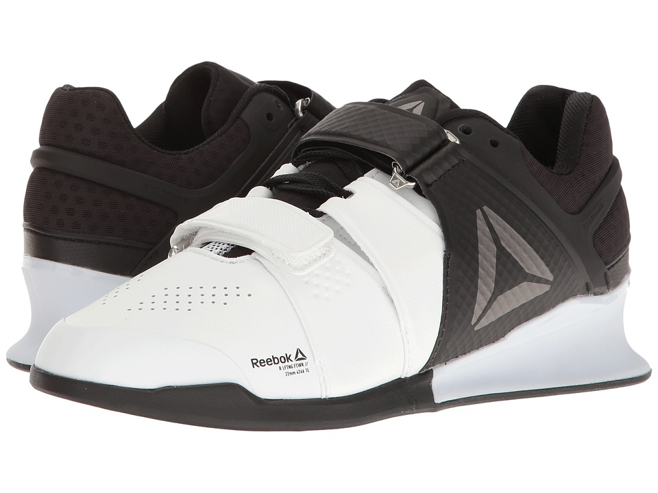Reebok Legacy Lifter (White/Black/Pewter) Women's Cross T...