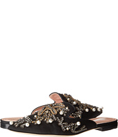 Alberta Ferretti - Embroidered and Embellished Slip-On